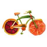 Bici del Veggie Foto de archivo libre de regalías