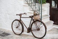 bici del vintage Imágenes de archivo libres de regalías