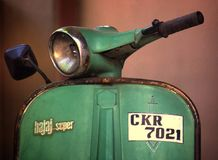bici del vintage Fotografía de archivo libre de regalías