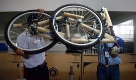Bici della bicicletta dell'Assemblea dall'Indonesia fotografia stock