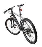 Bici della bicicletta della montagna isolata su bianco Fotografie Stock Libere da Diritti