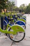 Bici della città, Zhuhai Cina Immagini Stock Libere da Diritti