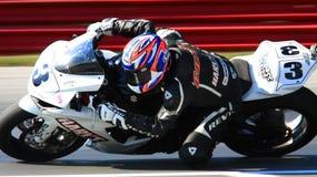 Bici della corsa di Suzuki GSX-R600 Fotografie Stock