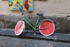 Bici della frutta Fotografia Stock