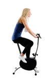 Bici di addestramento di guida Fotografie Stock
