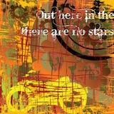 Bici di Grunge Fotografia Stock Libera da Diritti