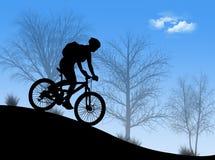 Bici di montagna Immagini Stock Libere da Diritti