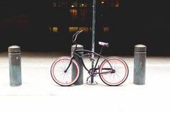 Bici di NYC Fotografia Stock