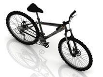 Bici di sport con le ruote e le leve del freno Fotografia Stock