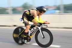Bici di triathlon Immagini Stock Libere da Diritti