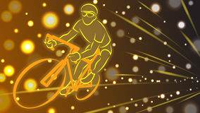 Bici di velocità Immagine Stock Libera da Diritti