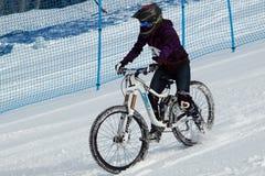Bici doppia di slalom di Teva Immagine Stock
