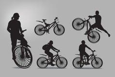 Bici. Ejemplo del vector Fotografía de archivo libre de regalías