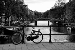 Bici en Amsterdam Imágenes de archivo libres de regalías