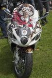 Bici en la demostración de encargo de Killarney Foto de archivo
