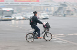 Bici en Pekín Imagen de archivo libre de regalías