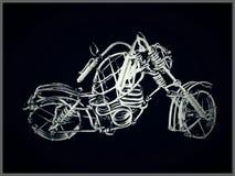 Bici esquelética Imagenes de archivo