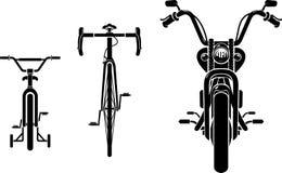 Bici Front Evolution Fotografie Stock