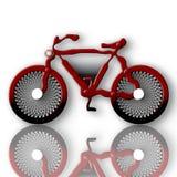 Bici futuristica Fotografia Stock