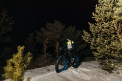 Bici gorda de Fatbike o bici del gordo-neumático foto de archivo