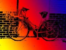 Bici in Ilford Fotografia Stock Libera da Diritti