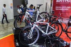 Bici internacional 2017 de Bangkok La expo de ciclo más grande de la bici en Tailandia, la tendencia del ciclo popular y la bici  Fotografía de archivo libre de regalías