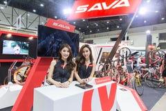 Bici internacional 2017 de Bangkok La expo de ciclo más grande de la bici en Tailandia, la tendencia del ciclo popular y la bici  Fotos de archivo libres de regalías