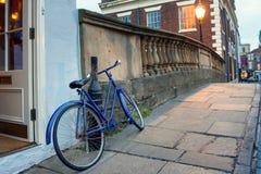 Bici nella città Immagini Stock