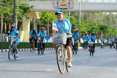 Bici para la mamá Fotografía de archivo libre de regalías