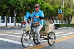 Bici para la mamá Imagen de archivo