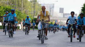 Bici para la mamá Imagen de archivo libre de regalías