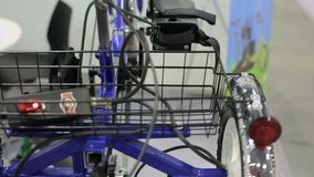 Bici para la rehabilitación almacen de video