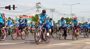Bici per la mamma in Tailandia Fotografia Stock Libera da Diritti