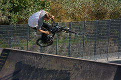 Bici que persigue 01 Foto de archivo libre de regalías