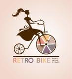 Bici retra. Foto de archivo libre de regalías