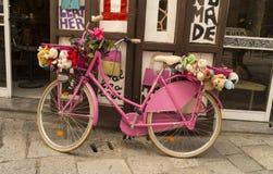 Bici rosa Immagini Stock Libere da Diritti