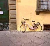 Bici rosa Immagine Stock Libera da Diritti