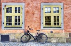 Bici vieja. Imagen de archivo libre de regalías