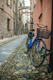 Bicicle. A bicicle in a little town Royalty Free Stock Photo