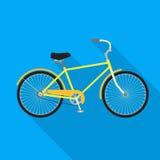 Bicicleta, ícone da bicicleta Fotografia de Stock Royalty Free