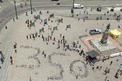 Bicicleta 350 Fotografía de archivo libre de regalías