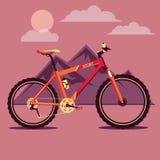 A bicicleta Imagem de Stock