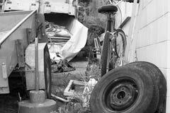 Bicicleta abandonada Fotos de Stock Royalty Free