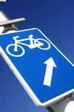 Bicicleta acima fotos de stock