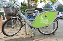 Bicicleta alugado Imagem de Stock Royalty Free
