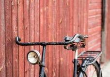 Bicicleta antigua vieja del ` s de los hombres negros Imágenes de archivo libres de regalías