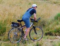 Bicicleta ao ar livre fotografia de stock