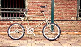 Bicicleta bonita do vintage Imagem de Stock Royalty Free