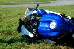 Bicicleta causada um crash foto de stock