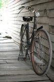 Bicicleta clásica vieja en Amphawa Imagen de archivo